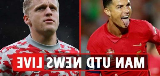 Man Utd news LIVE: Ronaldo nets international hat-trick, Varane injury BLOW, Van de Beek to Juventus transfer
