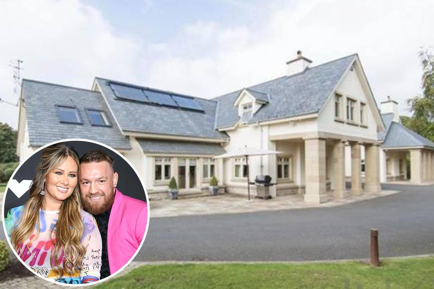McGregor's plans to extend £2.5m Ireland home with underground car park and gym rejected as 'inappropriate' by council