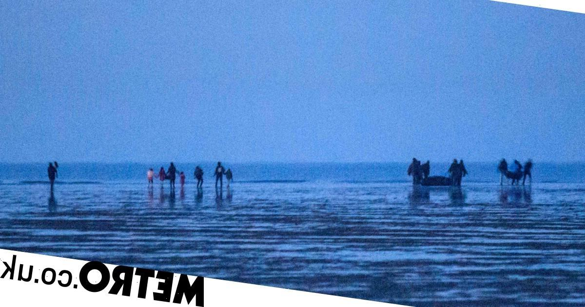 Migrants trying to cross Channel 'shot with rubber bullets by French police'