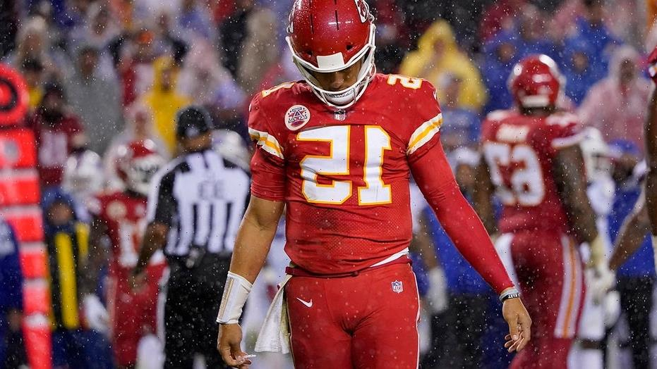 Patrick Mahomes is struggling for the first time in his pro career