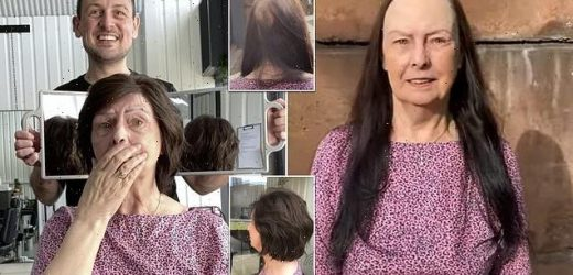 Pensioner, 74, is left in tears after having hair replacement