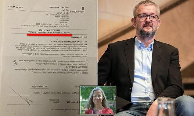 Polish writer accused of anti-Semitism is REFUSED entry to the UK