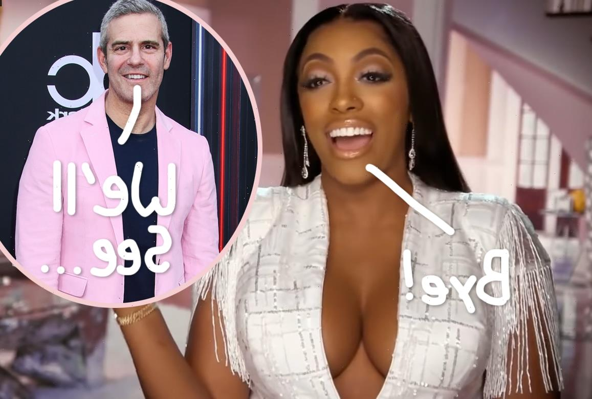 Porsha Williams Announces Exit From RHOA – But Andy Cohen Insists It's Only A 'Pause'?!