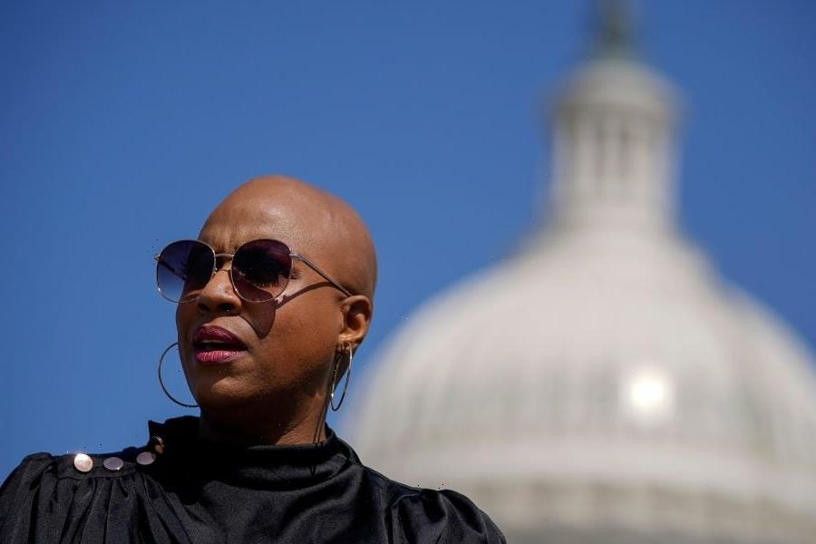 Rep. Ayanna Pressley And Congressional Colleagues Unveil Bill To Support People Experiencing Hair Loss