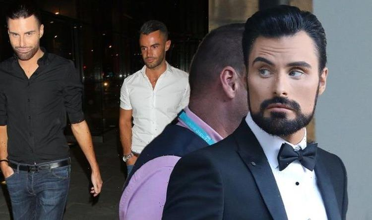 Rylan Clark-Neal seen with male companion after quip about 'downloading Grindr' amid split