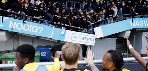 Stand collapses as football fans celebrate Vitesse Arnhem win
