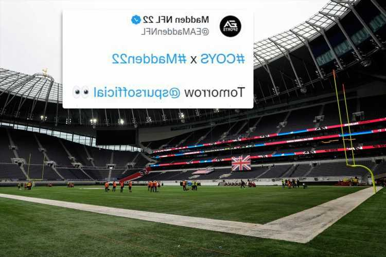 Tottenham's new stadium to be included in Madden 22 NFL game with Falcons and New York Jets set for weekend battle