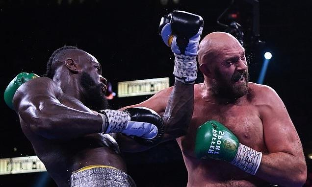 Wilder's trainer claims the Bronze Bomber broke his hand against Fury