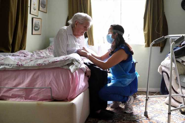 Xmas care home crisis looming as 42,000 workers face axe for not being vaxxed as Javid tells them 'get jabbed or QUIT'
