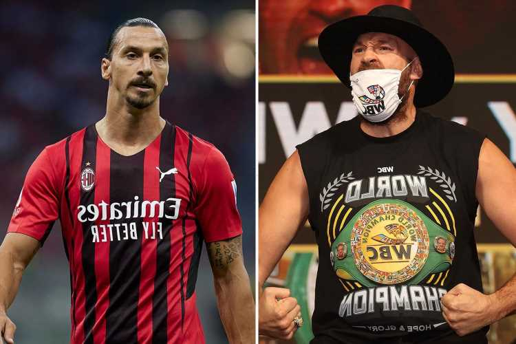 Zlatan Ibrahimovic urges 'inspiration' Tyson Fury to 'keep making history' by smashing Deontay Wilder in trilogy fight